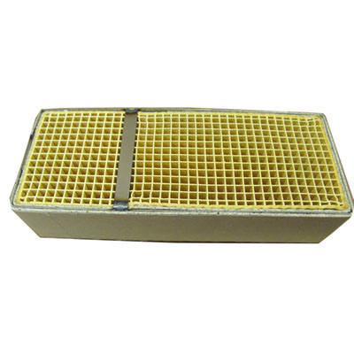 3 7 X 9 1 X 2 Inch Rectangular Canned Catalytic Combustor