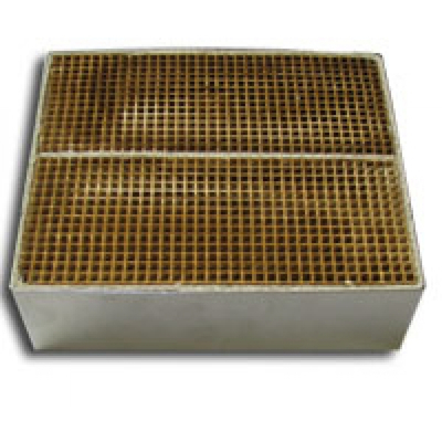 6 x 7 x 2 Inch Rectangular Canned Catalytic Combustor CC-600