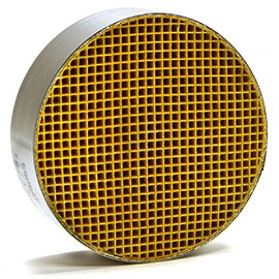 7 x 2 Inch Round Canned Catalytic Combustor CC-100