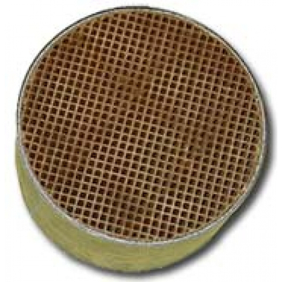 5.7 x 1.5 Inch Round Uncanned Catalytic Combustor CC-004