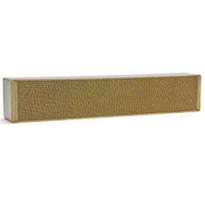 2 x 17 x 3 Inch Rectangular Canned Catalytic Combustor CC-212
