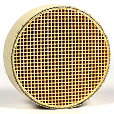 6 x 2 Inch Round Canned Catalytic Combustor CC-050