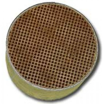 6 x 2 Inch Round Uncanned Catalytic Combustor CC-051