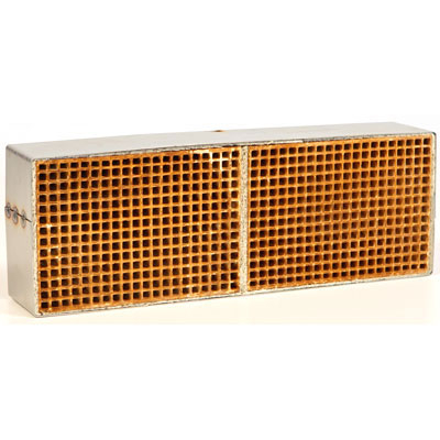 3.6 x 10.6 x 2 Inch Rectangular Canned Catalytic Combustor CC-511