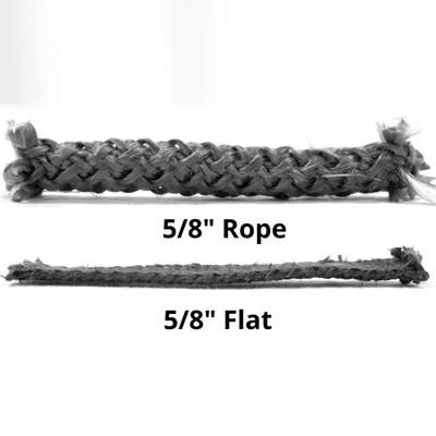 Flat gasket vs rope gasket. Know what you need before you purchase.