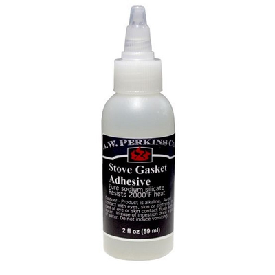 Included Stove Gasket Adhesive